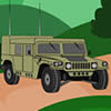 Army Hummer Cartoon Puzzle