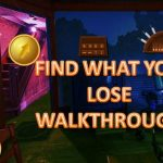 Find What You Lose Walkthrough escape game